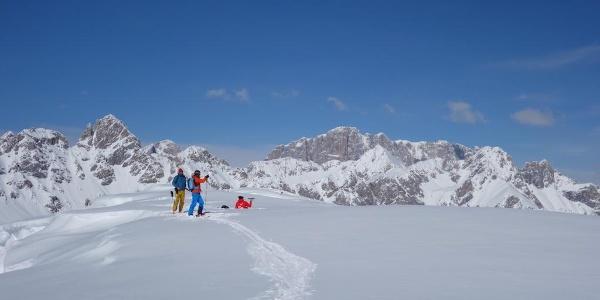 In cima al Col Margherita