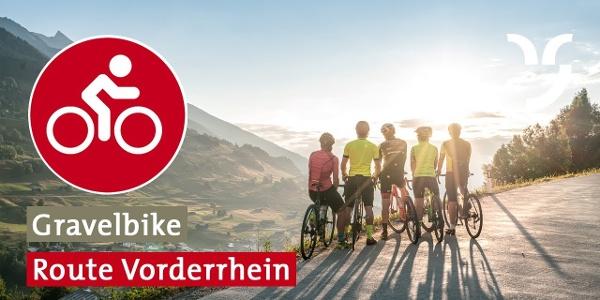 Gravelbike Route Vorderrhein