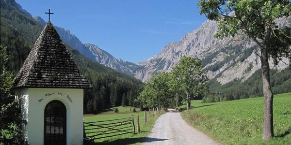Seewiesen - Blick ins Seetal