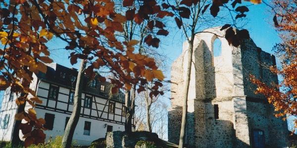 Burgstein - westliche Kirchruine