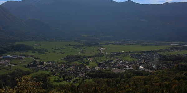 The Bovec area
