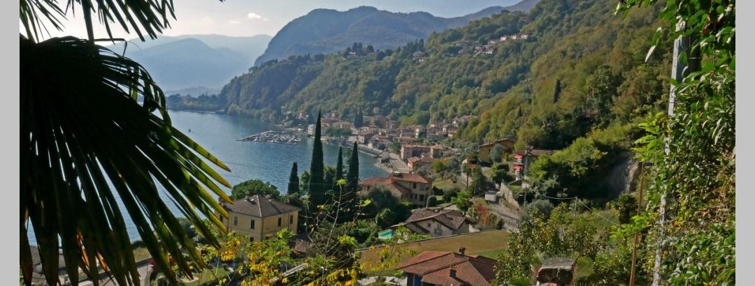 Über der Bucht von Menaggio
