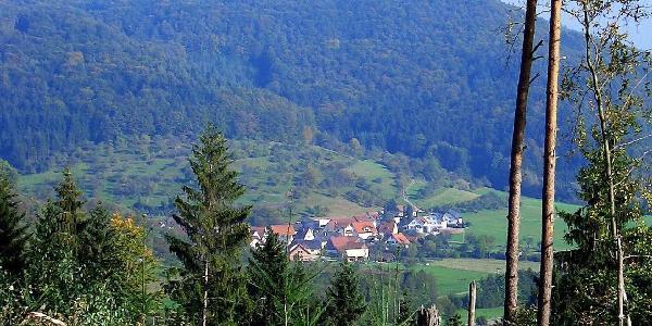 Blick auf Siebersbach