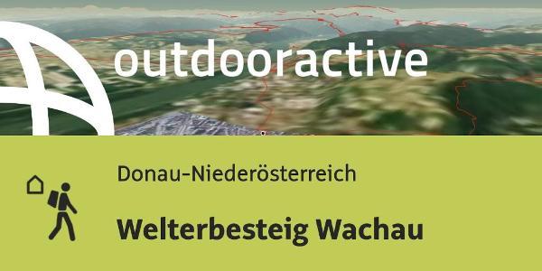 Fernwanderweg in Donau-Niederösterreich: Welterbesteig Wachau