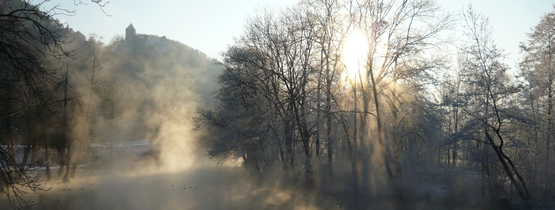 Winter am Main-Donau-Kanal