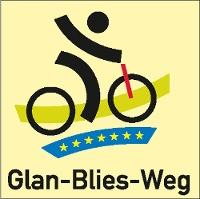 Routenlogo für den Glan-Blies-Radweg