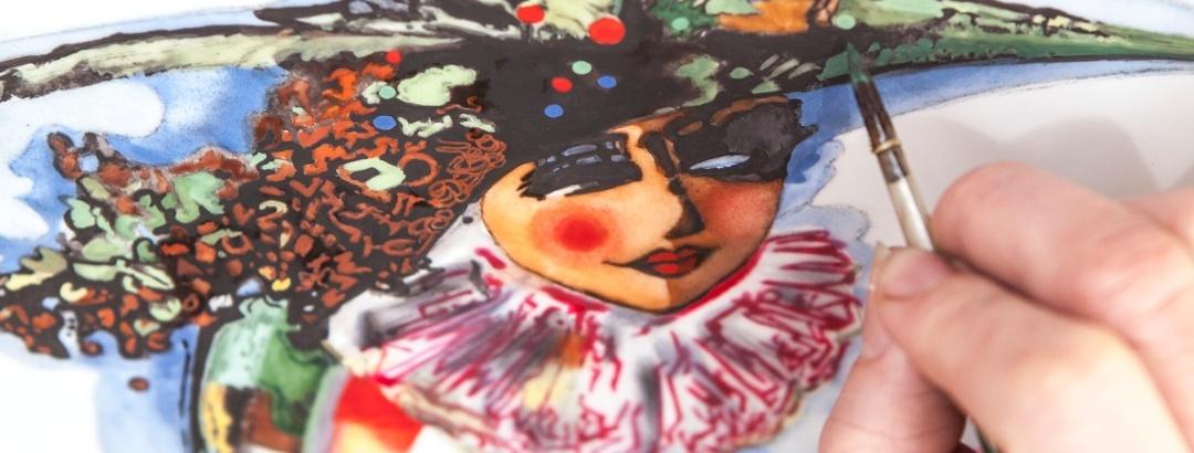 Meißner Porzellan Malerei