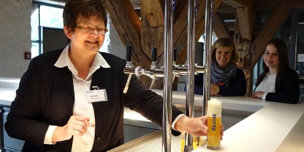 Probier-Bier im Museum HopfenBierGut