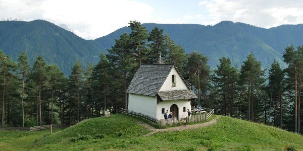 Kapelle oberhalb von Tiers