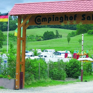 Eingangstor Campinghof-Salem