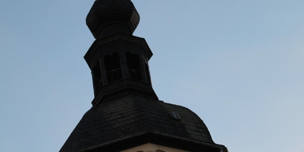 Turm der Stadtkirche in Reichenbach