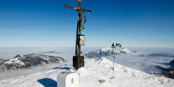 Gipfelkreuz Sonntagshorn
