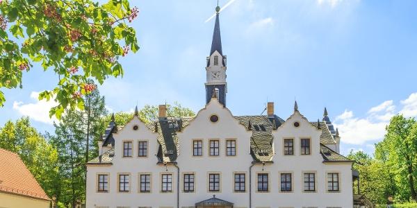 Ansicht vom Schlosshof