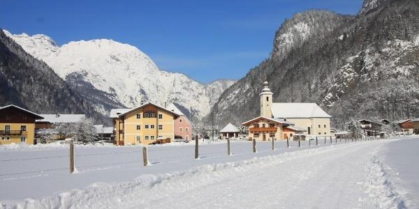 Winterwanderung in Weißbach