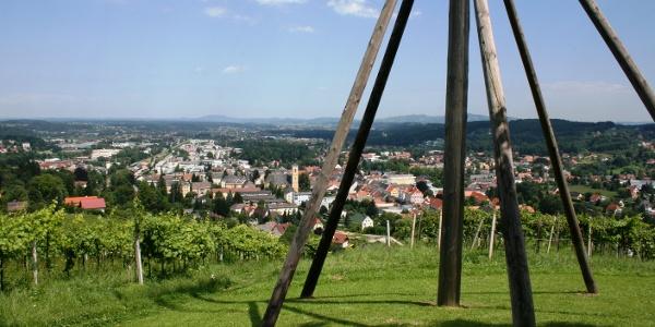 Stdtblick Deutschlandsberg