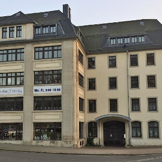 Porzellanmanufaktur an der Carl-Thieme-Straße in Freital-Potschappel