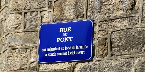 Rue du Pont in La Chaux-de-Fonds.