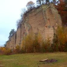 Im Tuffsteinbruch am Alten Berg