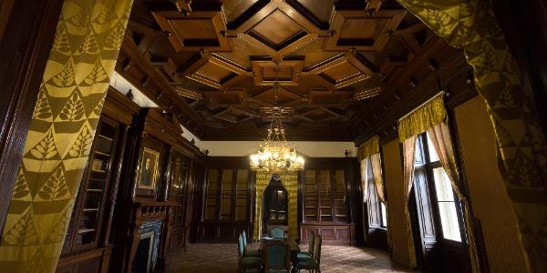 A szabadkígyósi Wenckheim-kastély belül