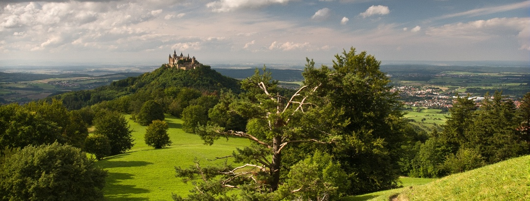 Burg Hohenzollern Weg vom Zeller Horn