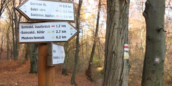 Az útirányjelző táblákkal vigyázni kell, több jelzést is átfestettek 2018-ban