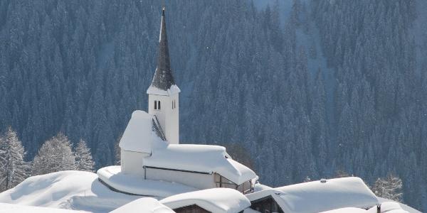 Reformierte Kirche Tenna ©Safiental Tourismus AG