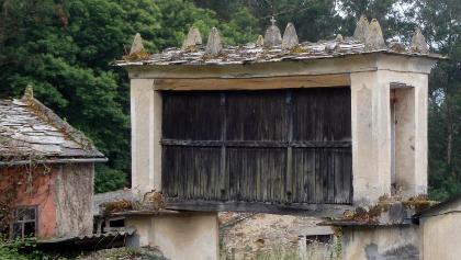 Galicia: Mondoñedo: San Paio: Hórreo