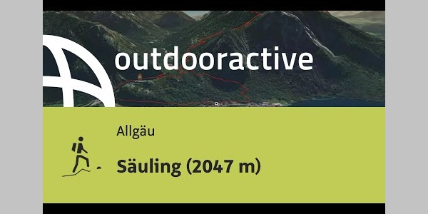 Bergtour im Allgäu:  Säuling (2047 m)