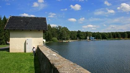 Active mining water management system - Erzengler pond