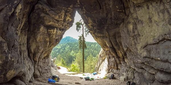 In der Kleinsteinhöhle