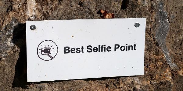 Auf dem Rebenweg gibt es sogar einen Selfie-Point.