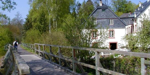 Startpunkt am Klosterhof Siebenborn