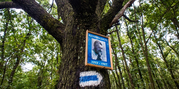 Rockenbauer-emlékfa az Öröm-hegyen