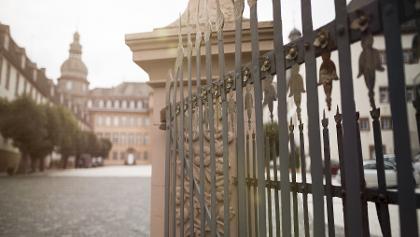 Schloss Berleburg_Einblick in den Hof