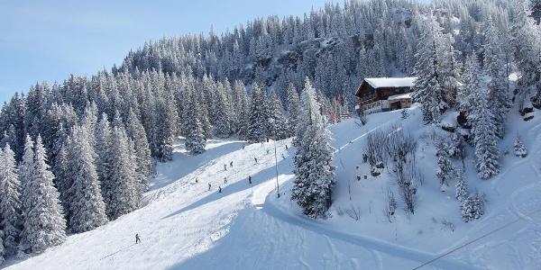 Winterwanderweg zum Chrüz