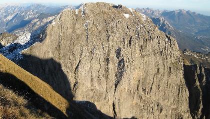 Monte Pelf von der Schiara