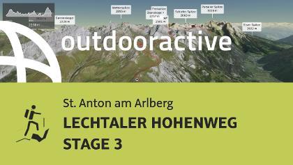 Hochtour in St. Anton am Arlberg: LECHTALER HOHENWEG STAGE 3