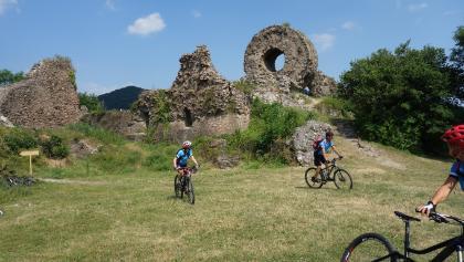 Ruine der Engelsburg oberhalb von Thann