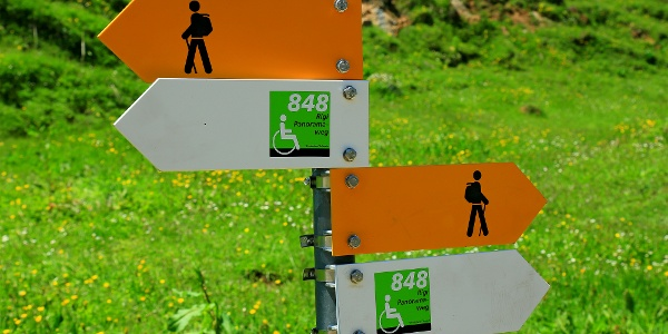 Der Rigi-Panoramaweg ist auch barrierefrei.