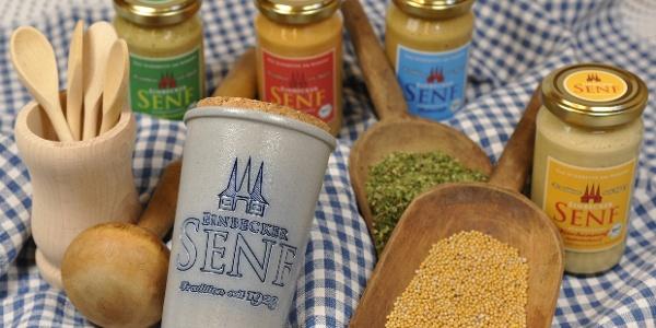 Produkte der Einbecker Senfmühle