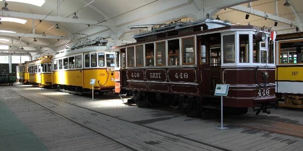 A Városi Tömegközlekedési Múzeum tele van kincsekkel