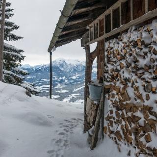 Von der Bergwacht Diensthütte hat man eine wundervolle Aussicht.