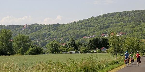 Werratalradweg zwischen Probsteizella und Treffurt