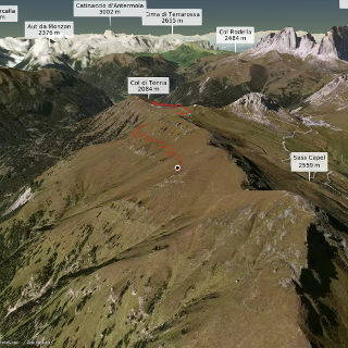 Mountainbike-tour in den Dolomiten: Dolomitentage 4. Etappe Viel dal Pan - Jochgrimm