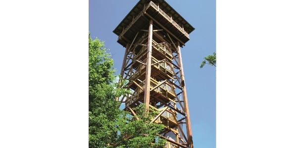 Aussichts- und Museumsturm auf dem Hungerberg