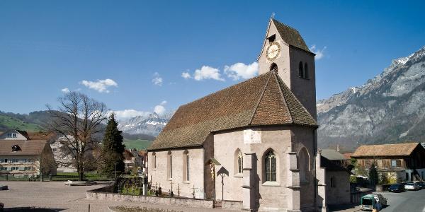 Die Kirche St. Justus in Flums