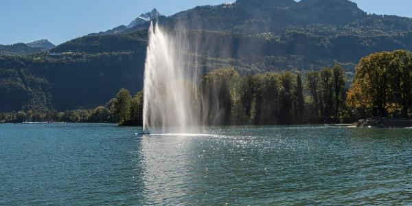 Springbrunnen in Weesen