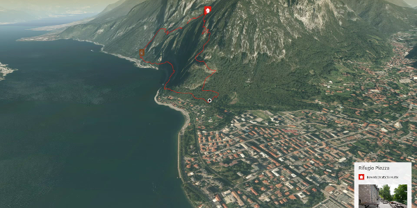 Klettersteig in Lecco: Sent. attrezzato dei Pinzetti und Sentiero dei Tecett