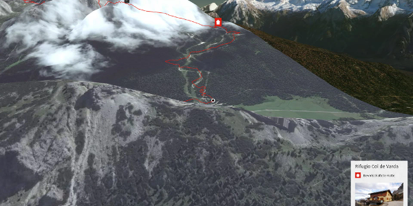 Klettersteig in Dolomiti d'Ampezzo, Dolomiti Bellunesi: Sentiero Alberto Bonacossa