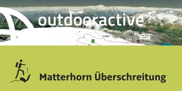 Hochtour am Matterhorn: Matterhorn Überschreitung